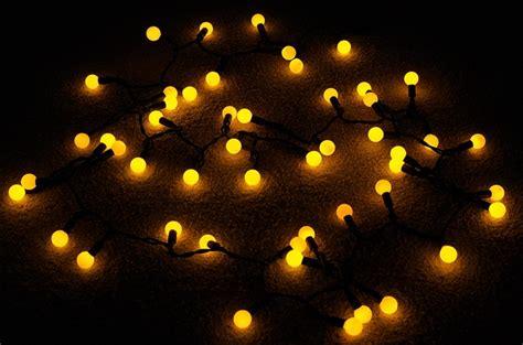 amber coloured fairy lights 50 amber led large ball string lights 17ft black cord