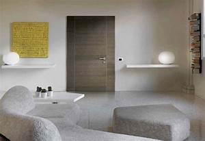 Porte Interieur Grise : porte grise en ch ne ~ Mglfilm.com Idées de Décoration