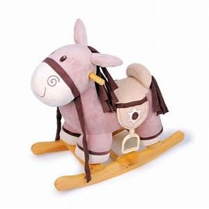 Cheval A Bascule Rose : cheval bascule en bois poney sh riff achat vente ~ Teatrodelosmanantiales.com Idées de Décoration