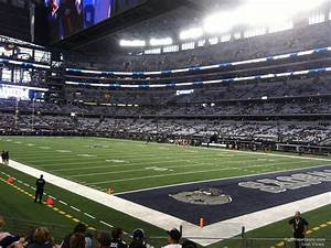 Redskins Seating Chart View At T Stadium Section 127 Dallas Cowboys Rateyourseats Com