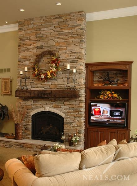 great room fireplace neals design remodel