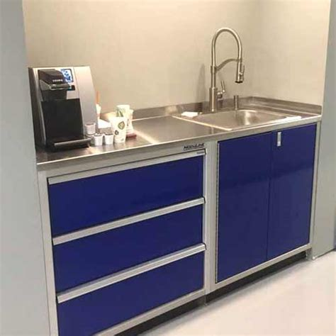 Sink In Garage by Stainless Steel Sinks For Garage Shop Cabinets Moduline
