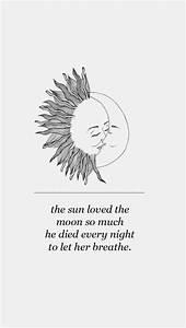 moon and sun lockscreen | Tumblr
