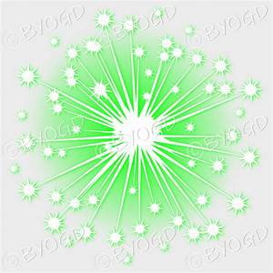 Green and White fireworks on a clear background. ⋆ Be Your ...