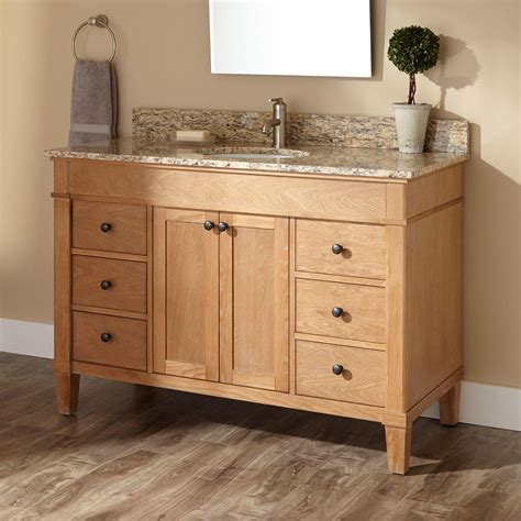 furniture vanity custom white oak furniture vanity by s d g cabinetry