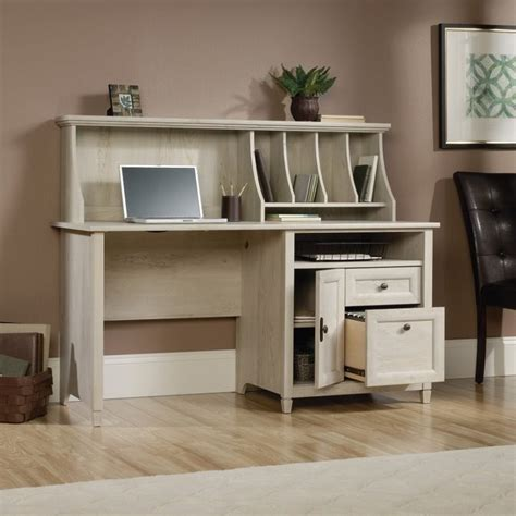 modern computer desk with hutch computer desk with hutch in chalked chestnut 419088