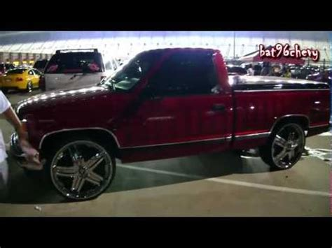 bed chevy silverado truck squatted on 26 quot forgiatos chevy bed on 28s doovi