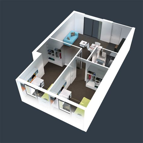 home plan bedroom house plans sq ft pictures 3d floor 2 of