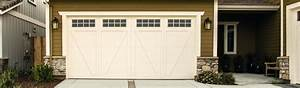 Carriage garage doors venidamius for Carriage style garage doors with windows