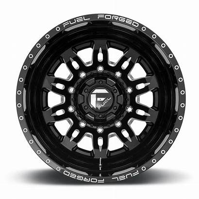 Lug Dually Wheels Fuel Rear Wheel Gloss