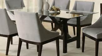 Exclusive Uk Dining Tables by Glass Dining Table Set