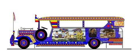 jeep philippines drawing pinoy jeepney art renan sityar flickr