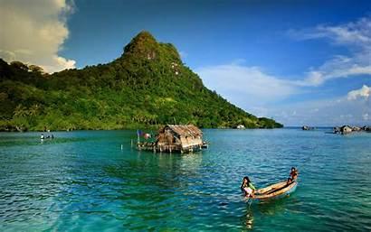 Bali Indonesia Ocean Mountain Earth 4k Background