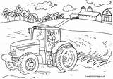 Coloring Farm Colouring Tractor Farmer Farms Printable Farming Sheets Activityvillage Tractors Kolorowanki Harvest Adult Everfreecoloring Yard Printables Fancy Result Tegninger sketch template