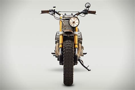 Daryl Dixon's Motorcycle From The Walking Dead