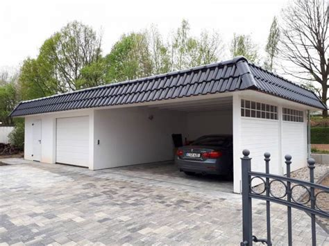 Carport Garage Kombination by Carport Garage Die Perfekte Kombination