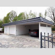 Carport + Garage = Die Perfekte Kombination
