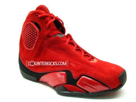 Air Jordan Xxi 21 Red Suede Prototype Sneakerfiles