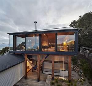 un agrandissement de maison en bois pour donner un coup de With extension maison en hauteur