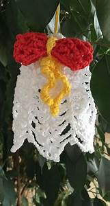 Tuto Sapin De Noel Au Crochet : tuto cloche de no l au crochet ~ Farleysfitness.com Idées de Décoration
