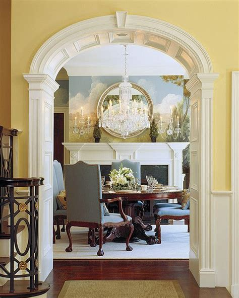 dining room entrance home interiors kitchens