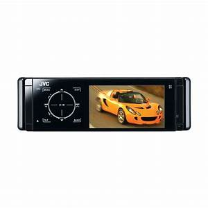 Jvc Kd-avx40 Cd    Mp3    Wma    Dvd Car Stereo With Bluetooth