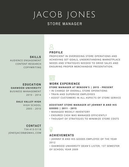 It Professional Resume Templates by Professional Resume Templates Canva