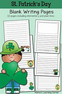 St  Patrick U0026 39 S Day Blank Writing Pages