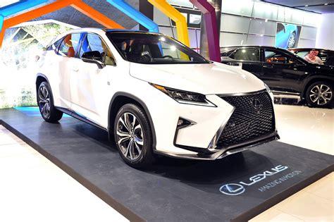 lexus crossover 2016 ebrahim k kanoo unveils all new 2016 lexus rx luxury