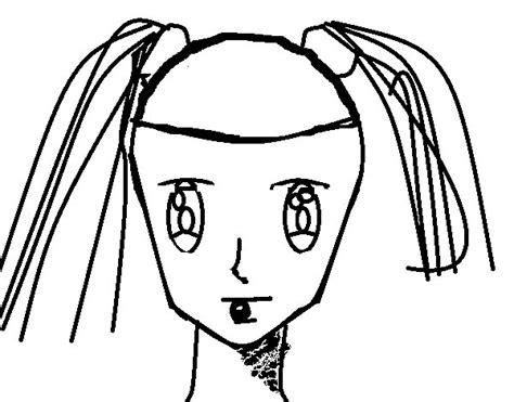 disegni ragazze con trecce disegno di faccia di ragazza con le trecce da colorare