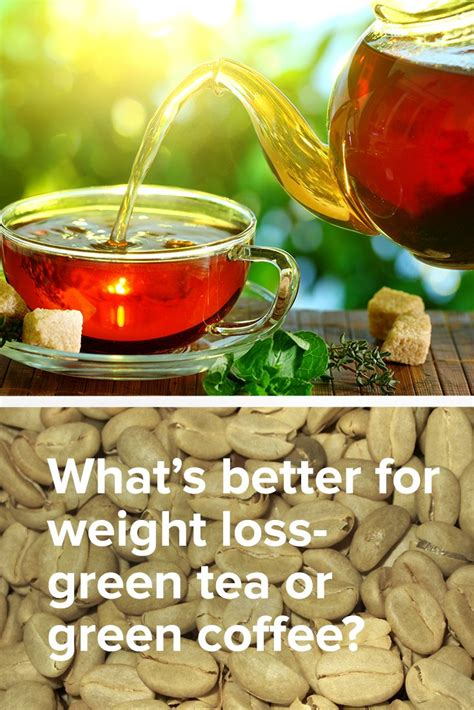 What's Better For Weight Loss: Green Tea Or Green Coffee