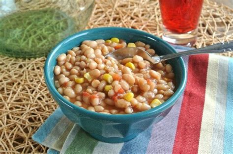 how to cook navy beans slow cooker navy bean soup recipe vegan in the freezer