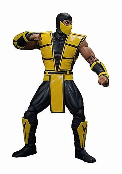 Action Figure Mortal Kombat Scale Storm Scorpion