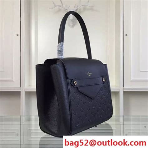 replica louis vuitton  trocadero tote bag monogram empreinte leather