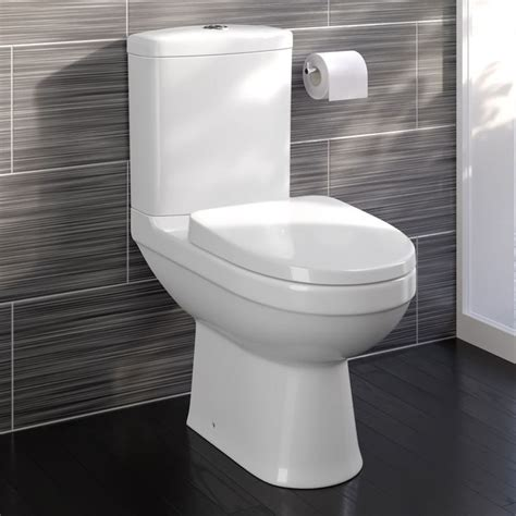 Modern Bathroom And Toilet by Modern White Ceramic Coupled Toilet Bathroom Pan
