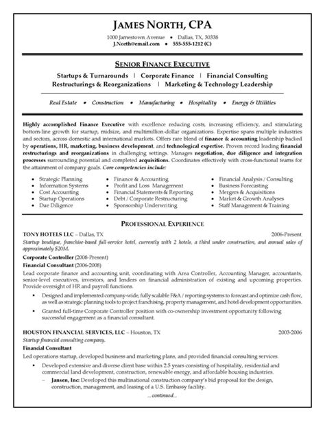 Consultant Cv by Cv Templates Consultant Http Webdesign14