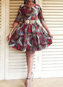 jolie robe courte en pagne modeles populaires de robes With robe courte pagne
