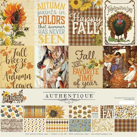 Authentique Paper - Splendor Collection - 12 x 12 ...