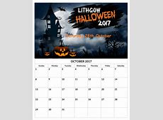 Halloween Calendar images 2018 B2B Fashion