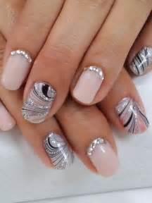 fingernã gel design vorlagen nailart nageldesign