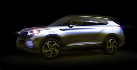 Diesel Hybrid by Ssangyong Xlv Concept Seven Seat Diesel Hybrid Suv