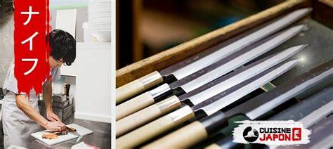 les couteaux japonais cuisine japon
