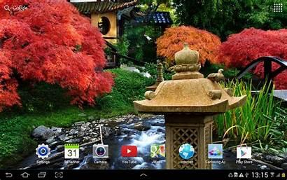 Zen Garden Peaceful Japanese Phone Screen Water