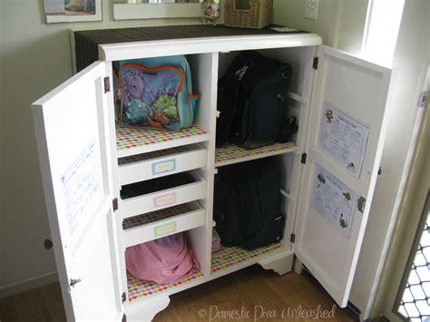 How To Keep Clothes In Cupboard by School Bag Cupboard Makeover Domestic Unleashed