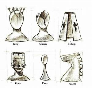 Surreal, Chess, Piece, Designs