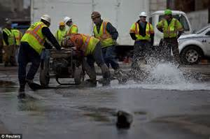 Hoboken left 'without water' after TWO massive water main ...