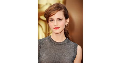 Emma Watson The Oscars Popsugar Celebrity Photo