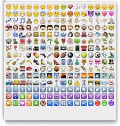 iPhone Emoji Emoticon Meaning