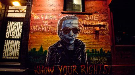 Joe Strummer Mural by The Joe Strummer Mural On 7th Is Back