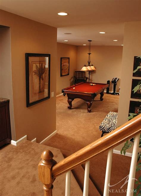 multi purpose basement neals design remodel